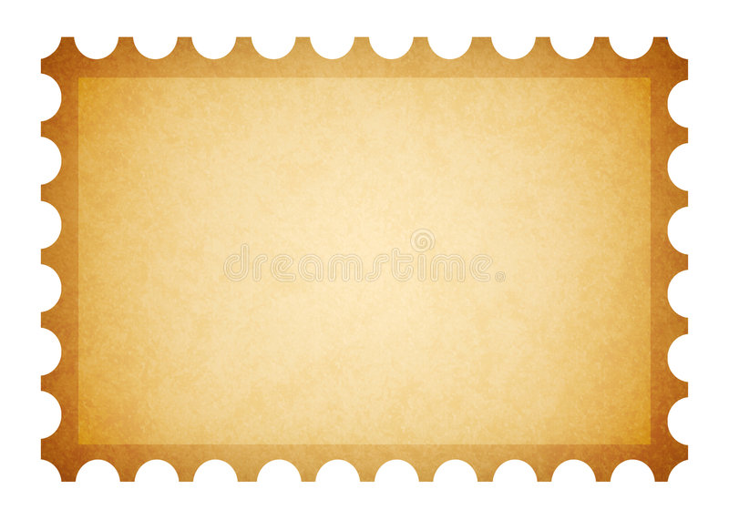 Viejo sello sucio ilustración del vector