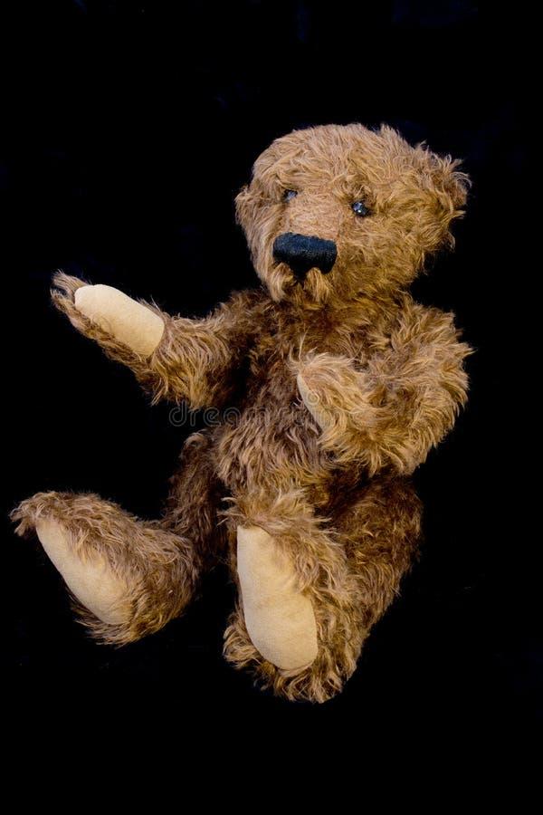 Viejo Teddy Bear Isolated fotos de archivo