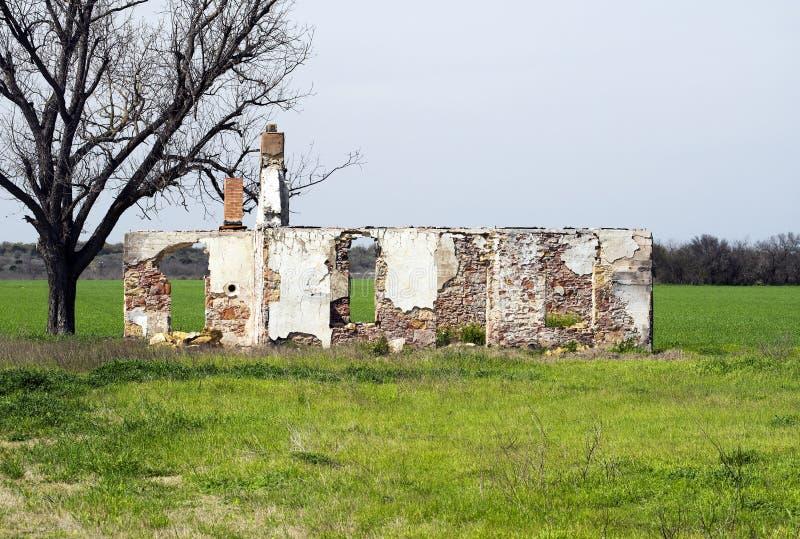 Viejo Texas Homestead fotos de archivo