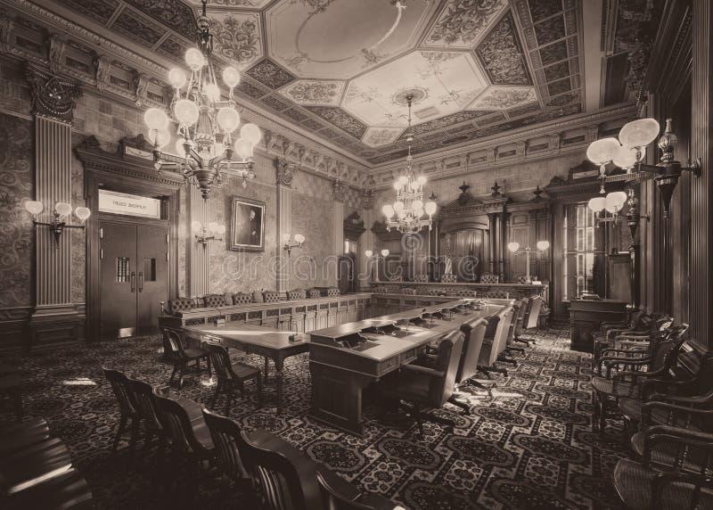Viejo Tribunal Supremo imagenes de archivo