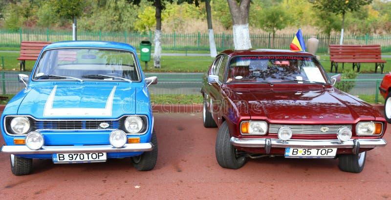 Viejo vado de los coches de deportes imagen de archivo
