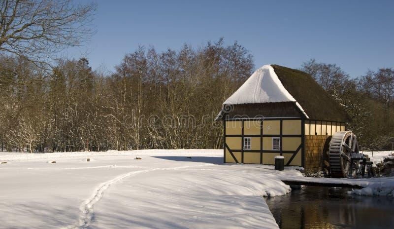 Viejo watermill fotografía de archivo libre de regalías
