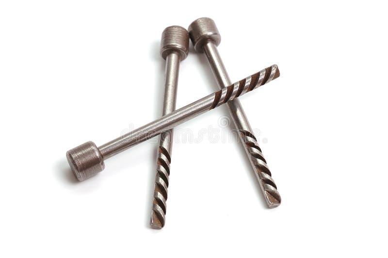 Viejos claves del metal para el garage foto de archivo libre de regalías
