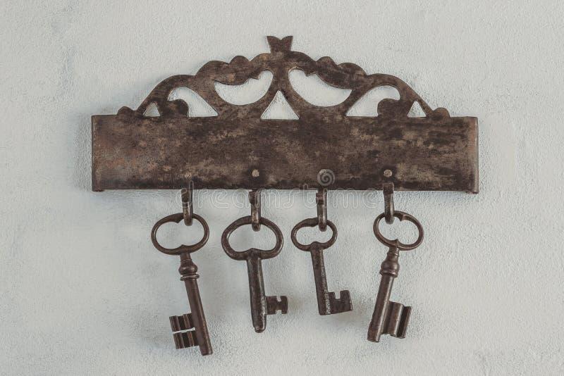 Viejos claves oxidados foto de archivo libre de regalías