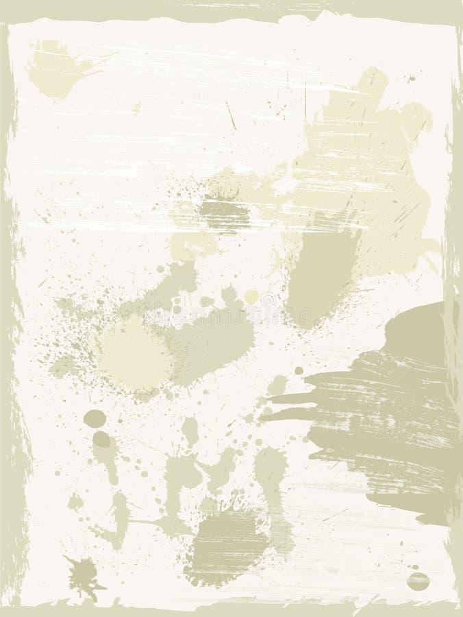 Viejos fondos de papel del grunge libre illustration
