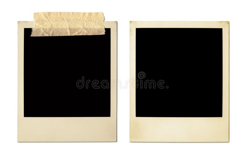 Viejos marcos de la foto (XXL) imagen de archivo libre de regalías