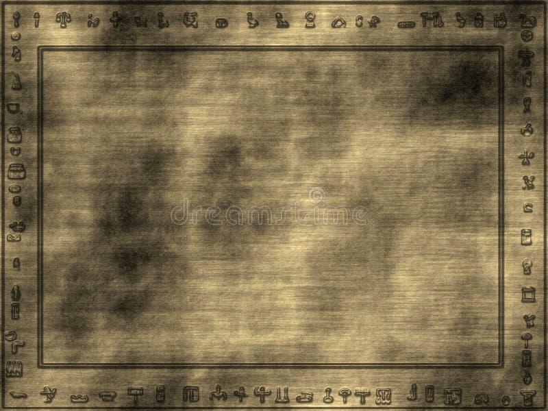 Viejos símbolos ilustración del vector