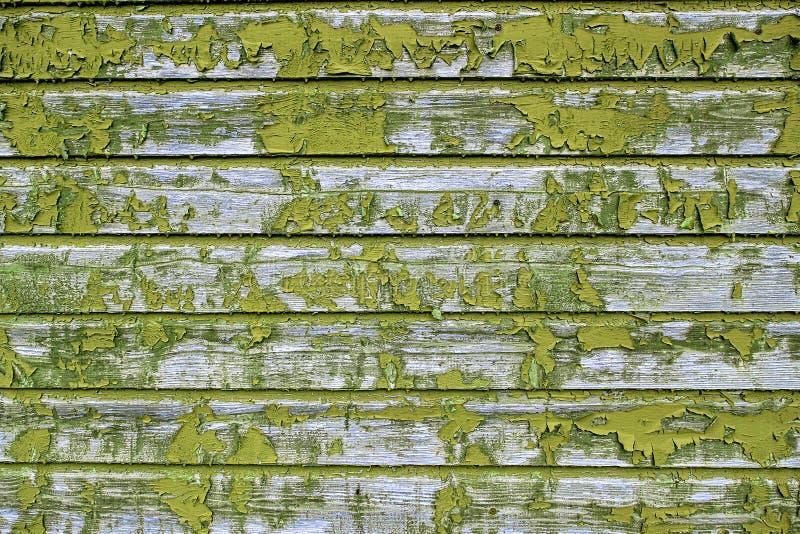 Viejos tableros amarillos, un fondo imagen de archivo