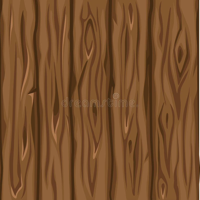 Viejos tableros marrones de la textura de madera stock de ilustración