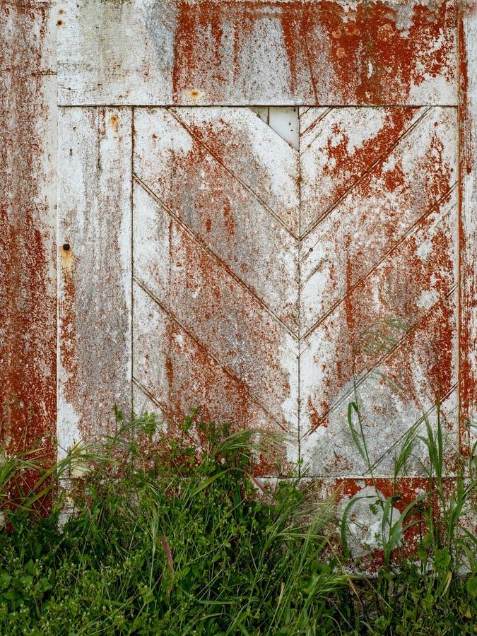 Viejos textura y fondo de la puerta fotografía de archivo