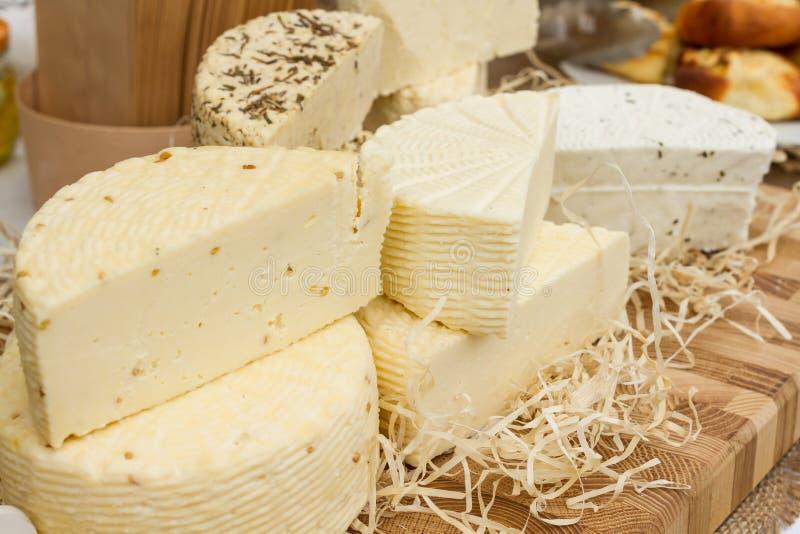 Viel Art des Käses lizenzfreie stockfotos