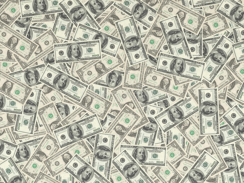 Viel Geld stockfotos