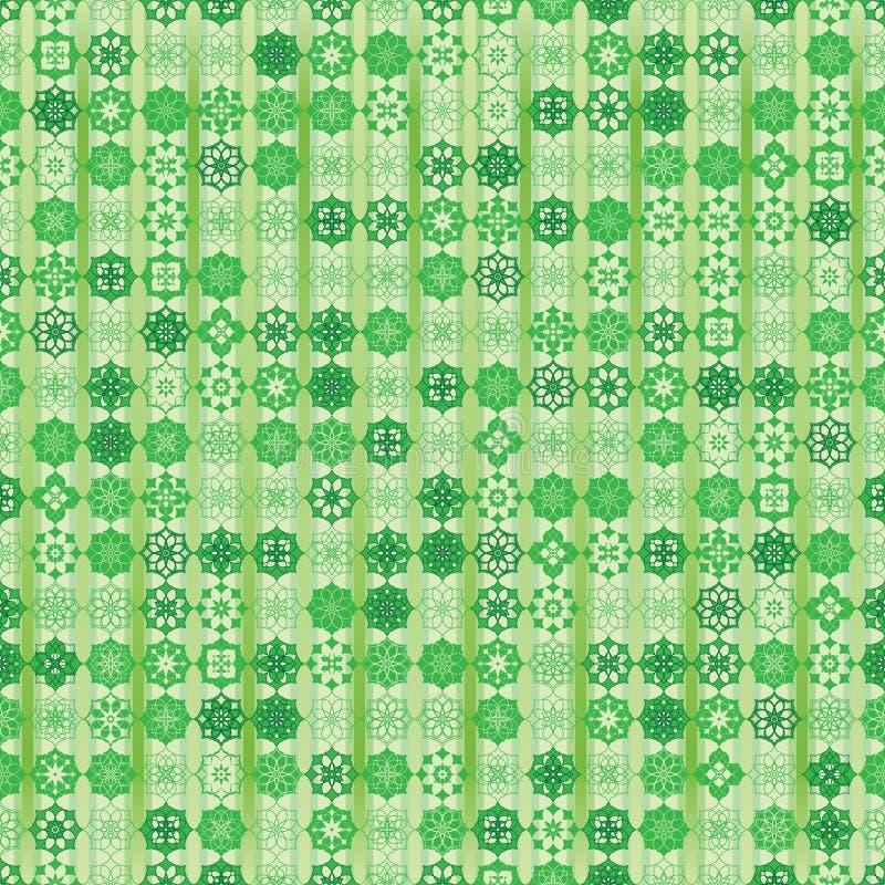 Viel Ramadan-Stern vertikales nahtloses Muster vektor abbildung