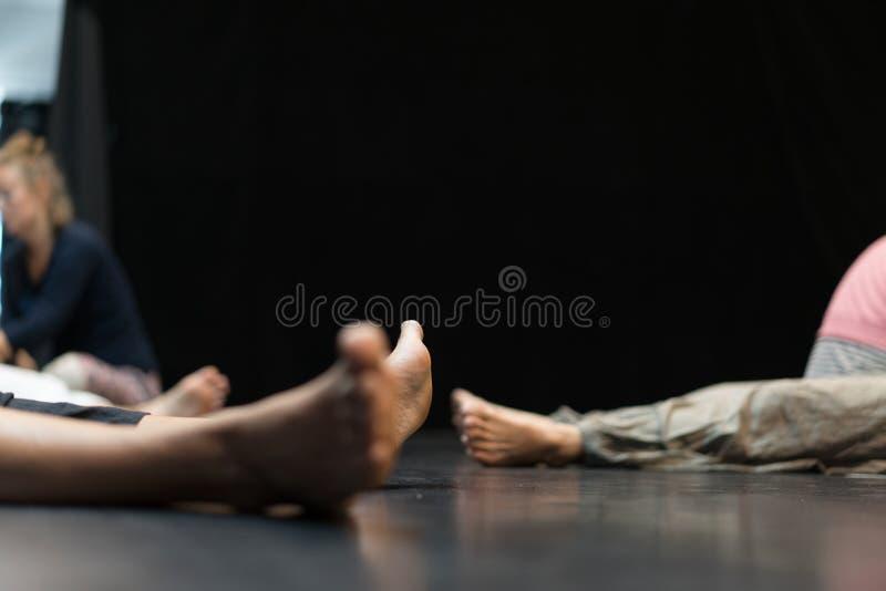 Viel Tänzerbein, Fuß stockbilder
