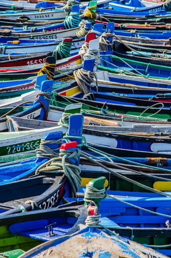 Viele Boote lizenzfreie stockbilder