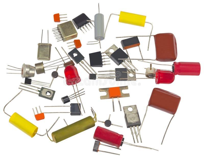Viele IC-radioaktiven Elemente stockbild