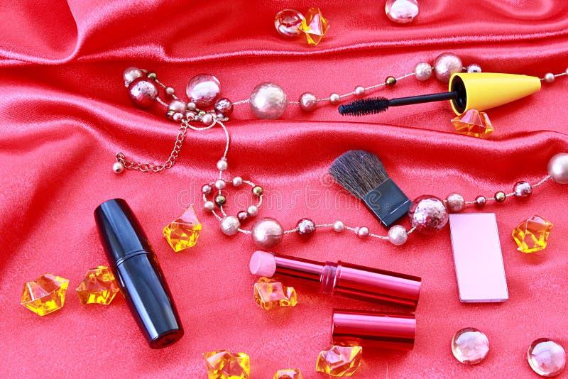 Viele Kosmetik lizenzfreie stockfotos