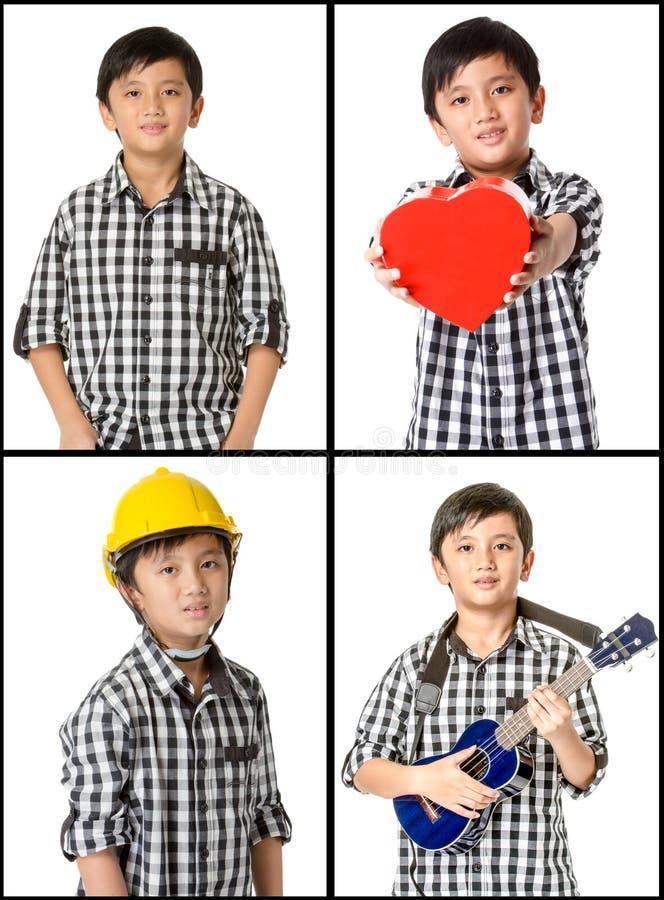 Viele verschiedenen Kinder lizenzfreies stockfoto