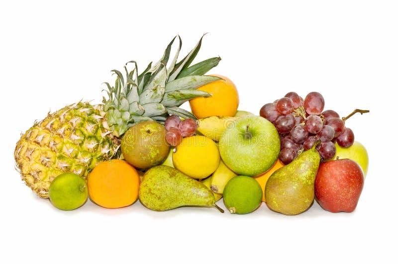 Vielzahl der frischen Früchte lizenzfreies stockbild