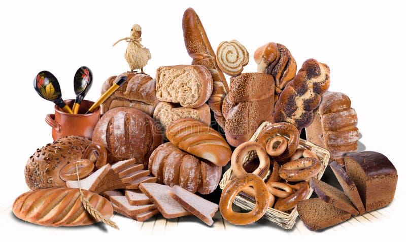 Vielzahl des Brotes lizenzfreie stockbilder