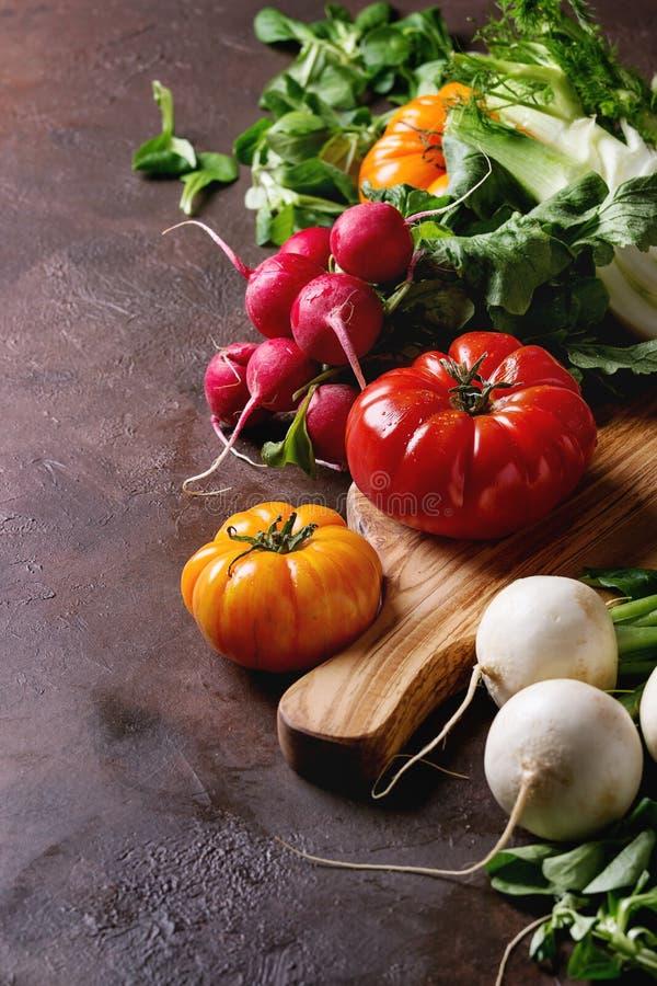 Vielzahl des Gemüses stockbilder