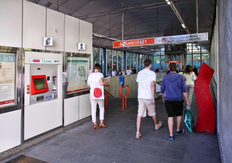 Download Estação de Viena foto de stock editorial. Imagem de massa - 29846993