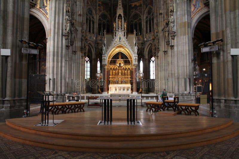 Viena - iglesia votiva fotografía de archivo