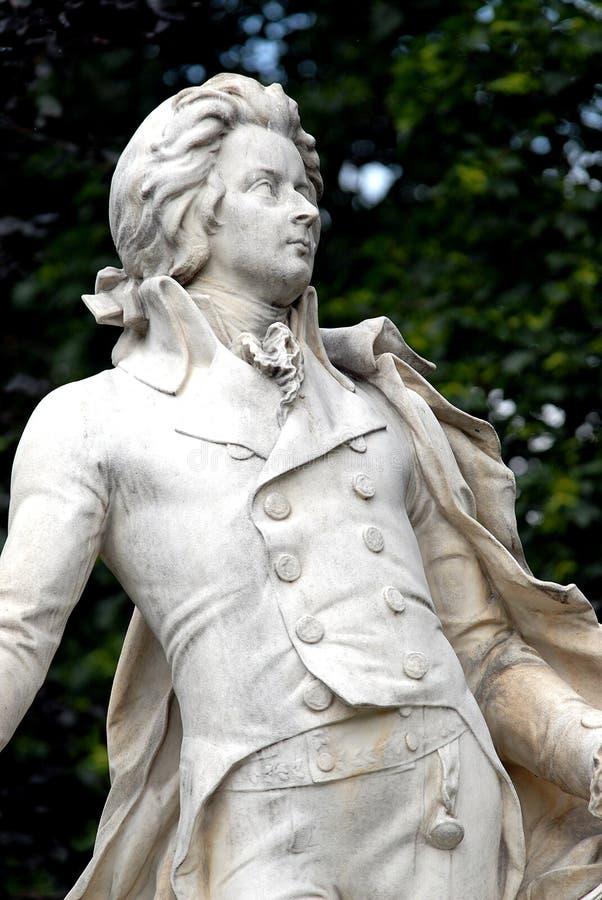 Viena - Mozart fotos de archivo