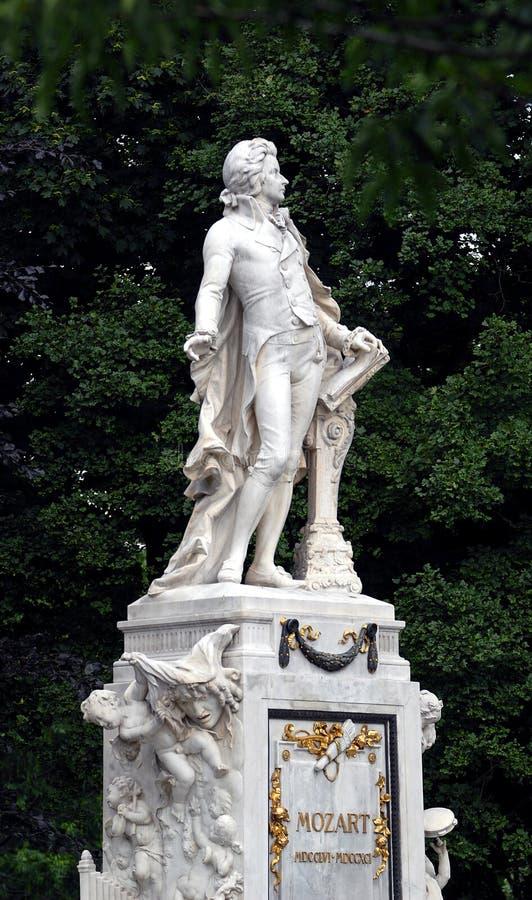 Viena - Mozart foto de stock royalty free