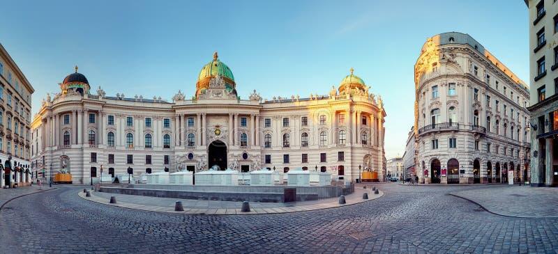 Viena - palácio de Hofburg, Áustria foto de stock royalty free