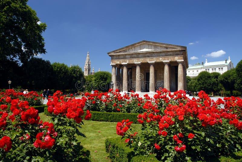 Viena - Volksgarten imagens de stock royalty free