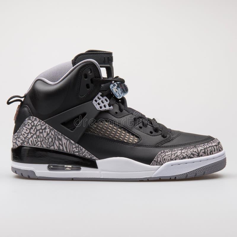Nike Air Jordan Spizike Black Sneaker Editorial Photo - Image of ...