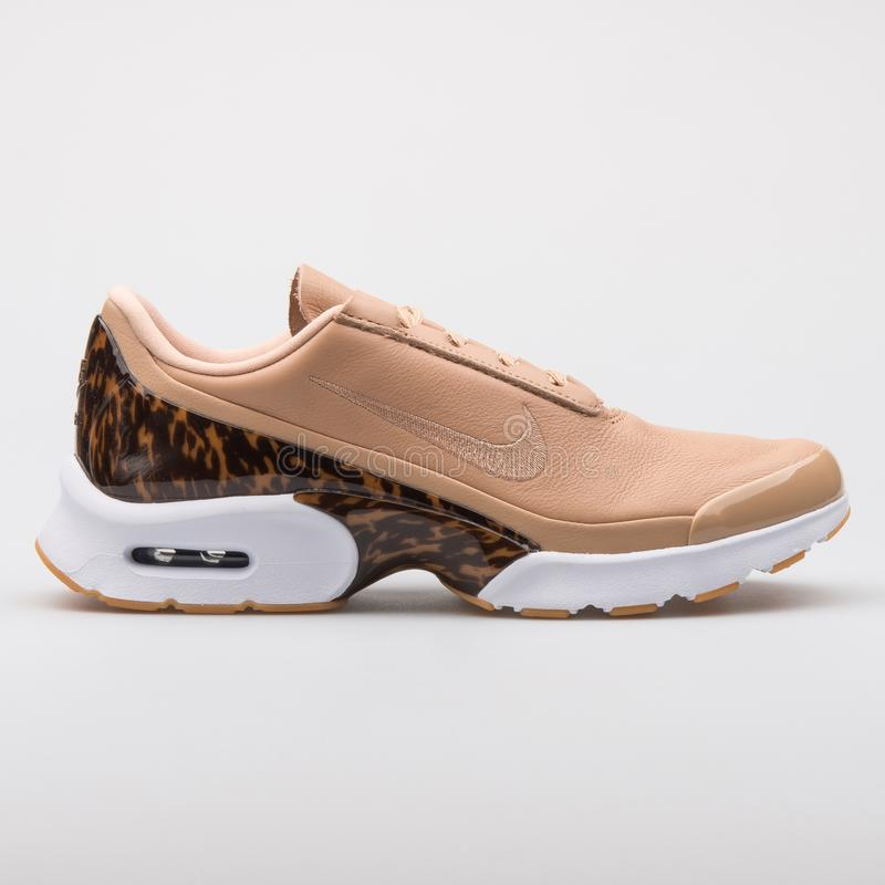 d4c53d50d3 Nike Air Max Jewell Premium Pink And Green Sneaker Editorial Stock ...