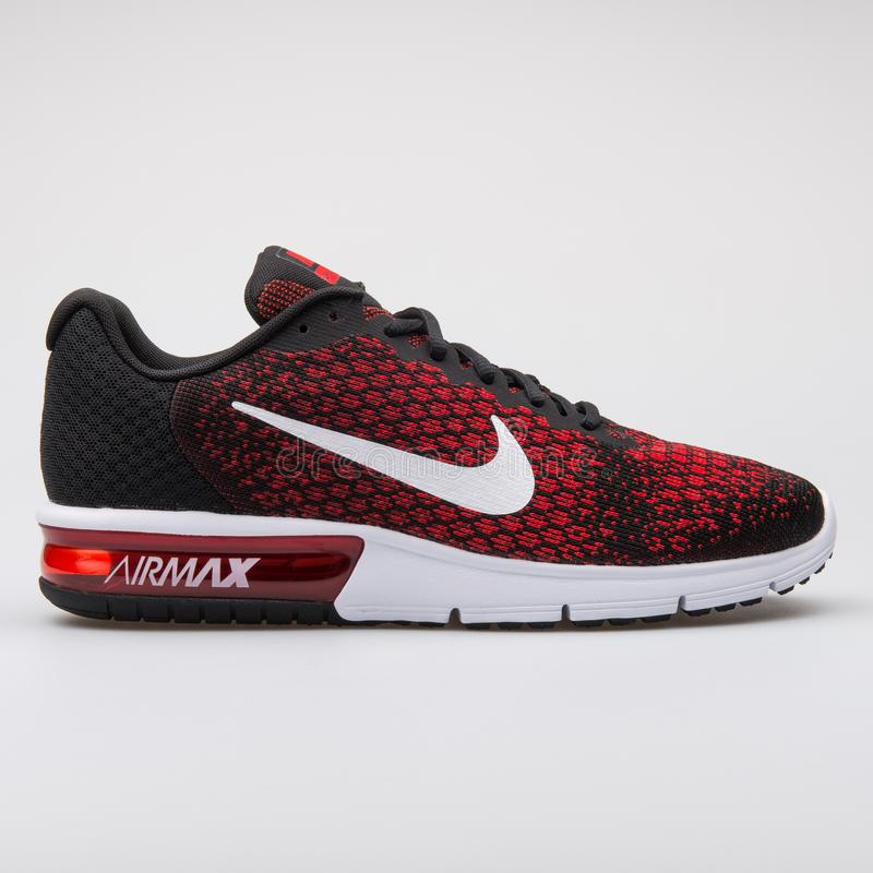 Nike Air Max Sequent 2 Red Sneaker