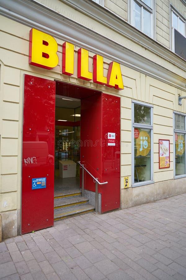 BILLA stock photography