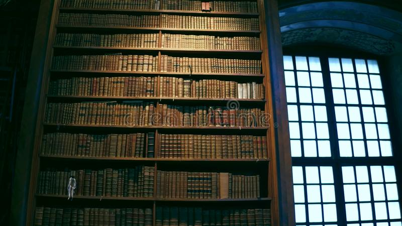 VIENNA, AUSTRIA - DECEMBER, 24 Interior shot of Austrian National Library royalty free stock images