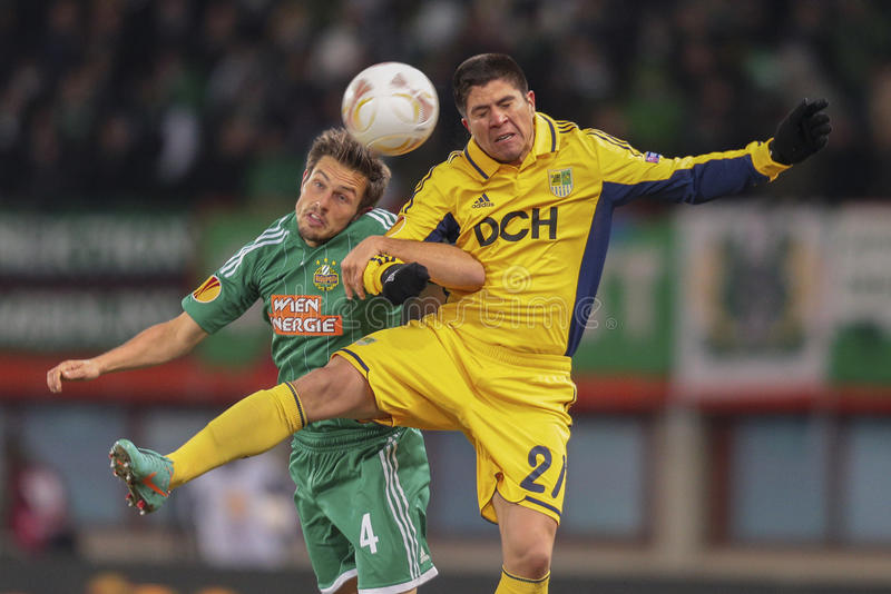Download Rapid vs. Metalist editorial photography. Image of match - 30253757