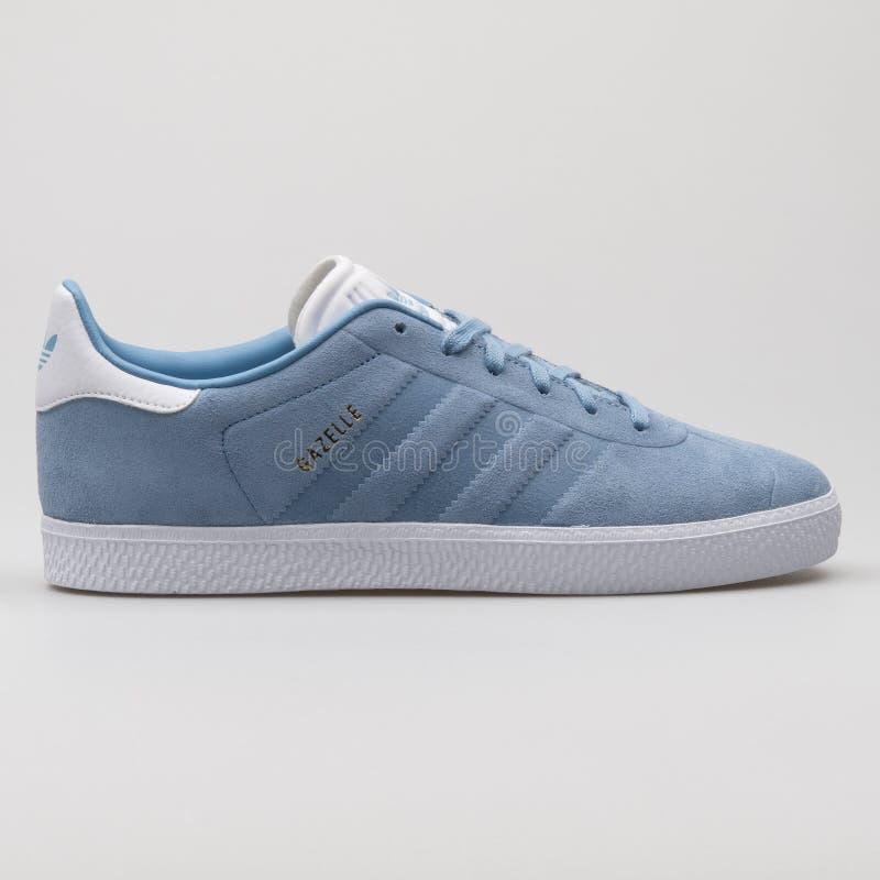 Adidas Gazelle Light Blue And White