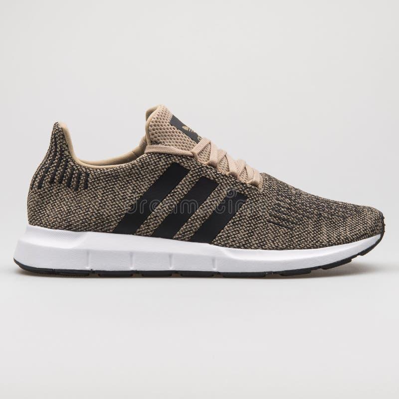 Adidas Swift Run Khaki And Black