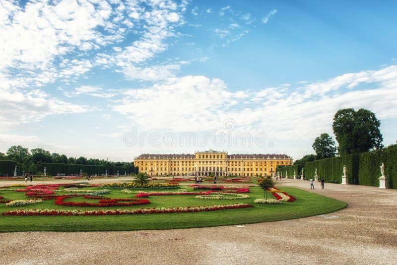 Schonbrunn Palace Vienna, Austria stock photo