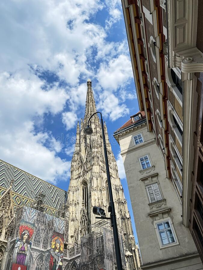 St. Stephens Cathedral stock photography