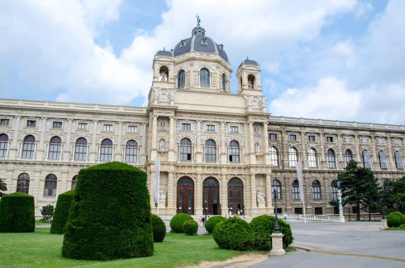 Vienna, Austria - 15 luglio 2013: L'inglese del museo di Kunsthistorisches: Museo di Art History, anche citato spesso come il mus fotografia stock libera da diritti
