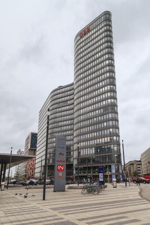 Modern architecture of Vienna stock photos