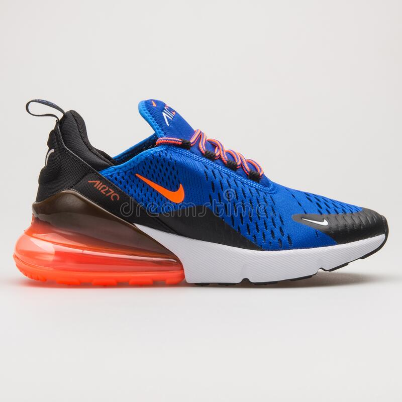 Nike Air Max 270 Blue, Red And White