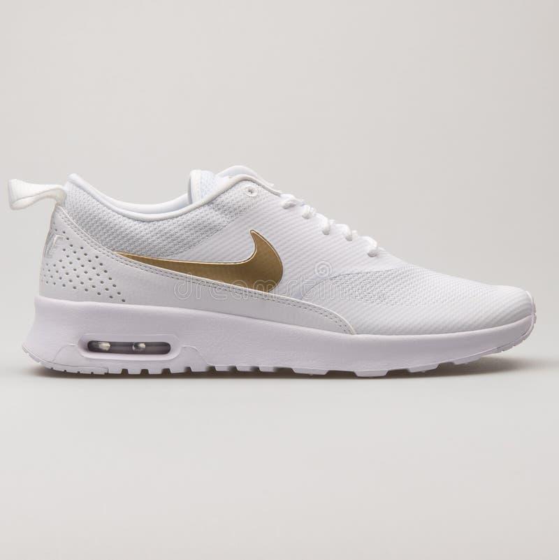 Nike Air Max Thea White And Metallic