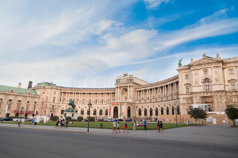 Neue Burg Museum in Vienna royalty free stock images