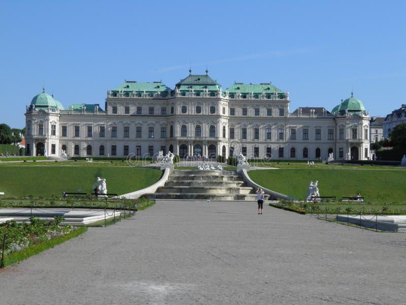 Download Vienna, Belvedere stock photo. Image of heritage, landmark - 19950772