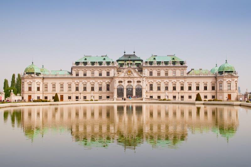 Vienna Belvedere stock photo