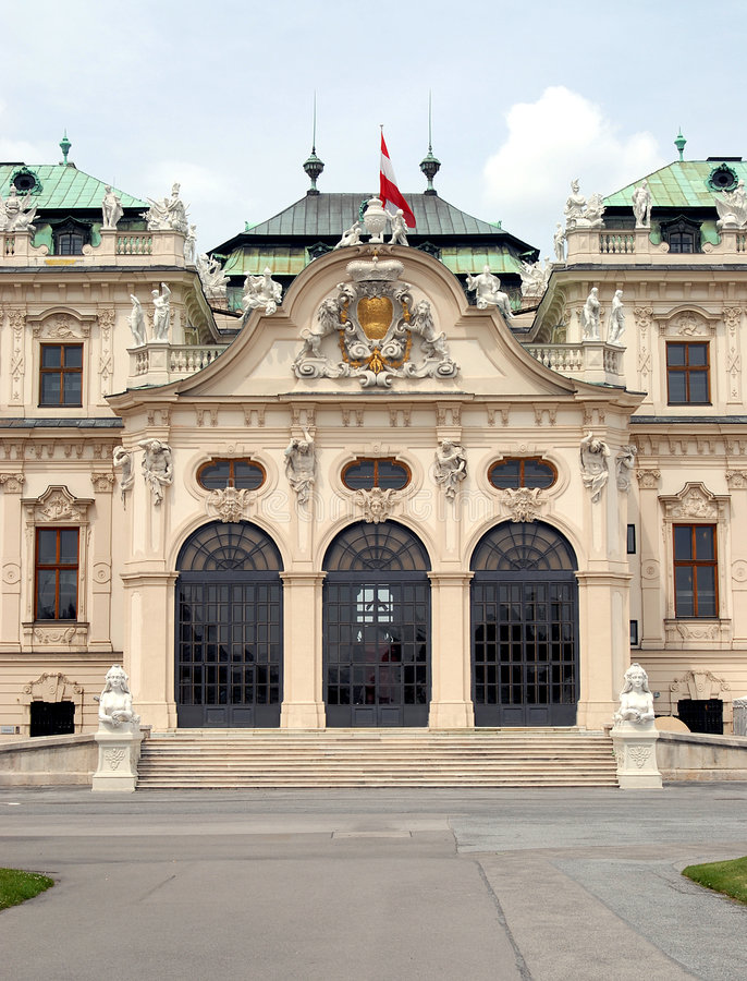 Download Vienna -  Belvedere, Upper Stock Photo - Image: 2661630