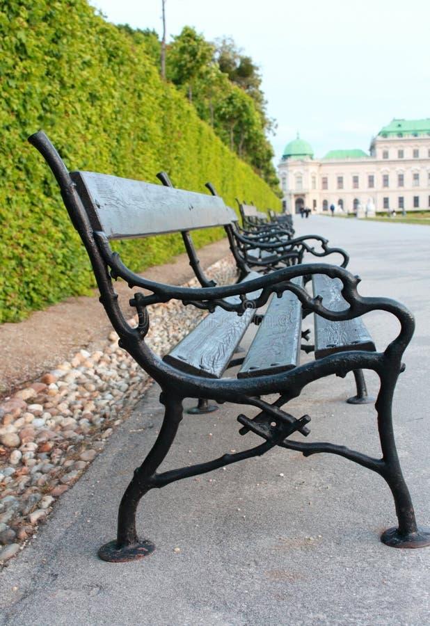 Vienna bench royalty free stock image